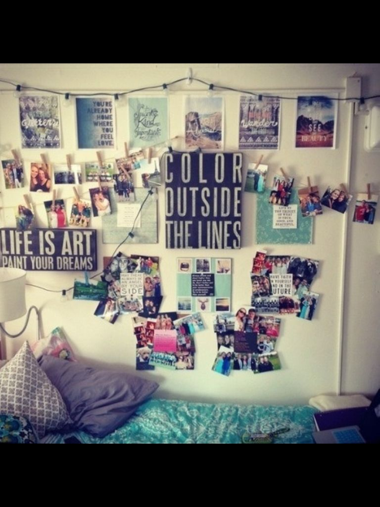 Tumblr Room Wall Quote Bedroom X1 Dorm Room Walls
