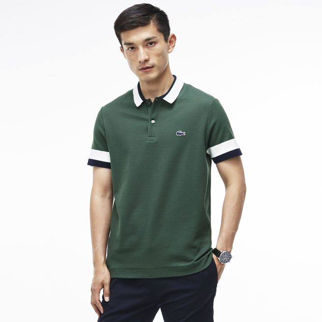 5d877ec04d830 Lacoste polo Edition Made In France Regular fit in petit piqué ...
