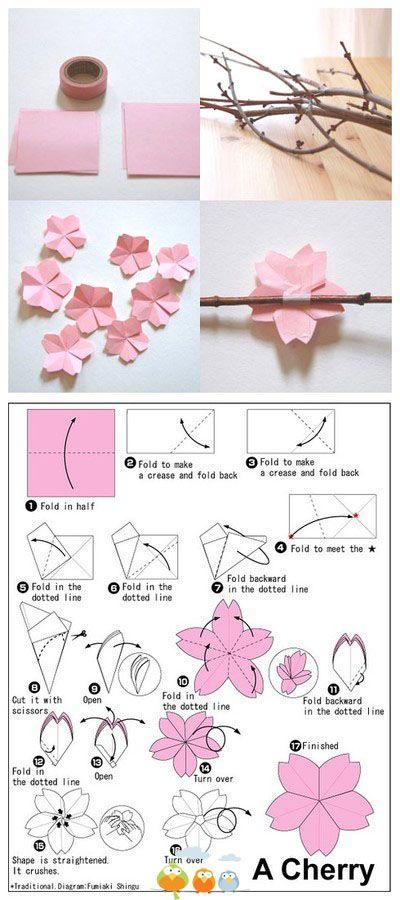 Pin von Susan Daly auf cherry blossom crafts | Pinterest ...
