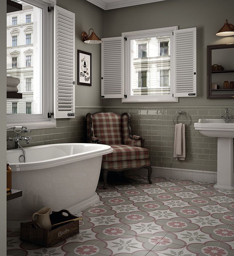 Simple Tile Expert · Płytli Caprice Deco od Equipe Ceramicas Luxury - Inspirational how to tile a tub surround Amazing