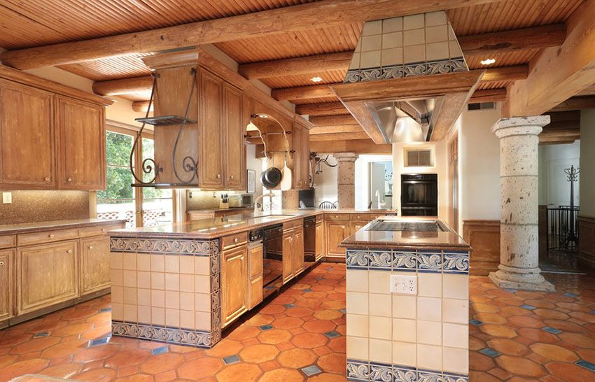 23 Beautiful Spanish Style Kitchens (Design Ideas)