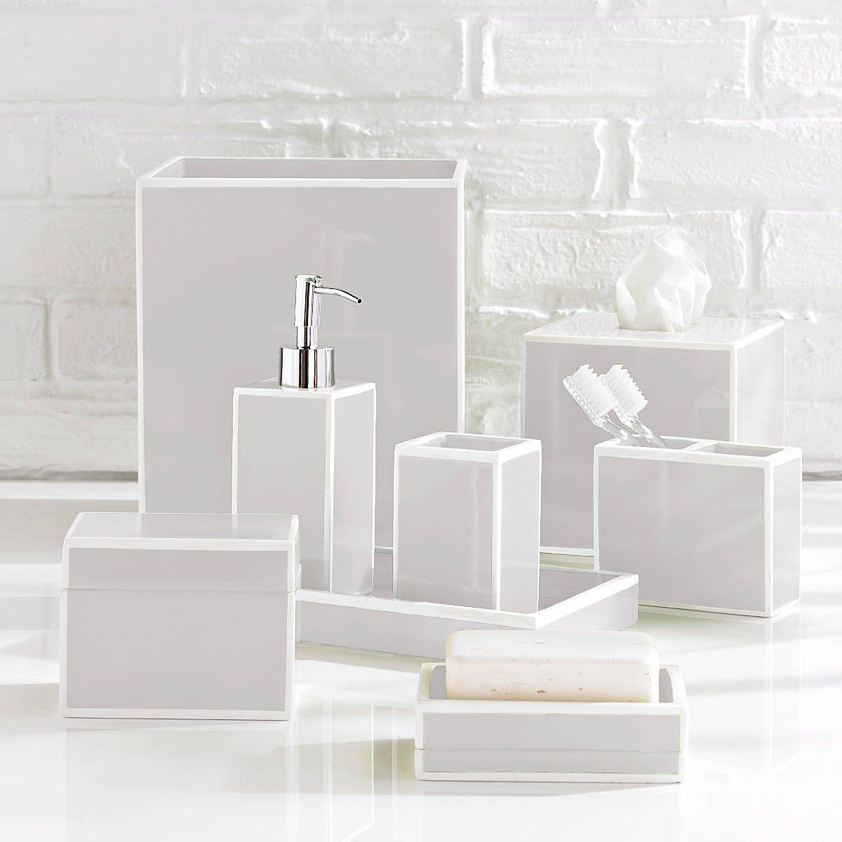 Soho Bathroom Accessories (Kassatex) | bath time | Pinterest ...