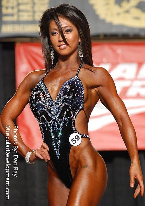 Asian Female Fitness Models 4 | Figure competition