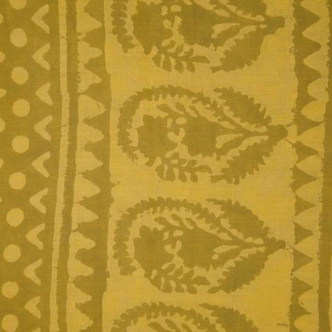 Hand Block Printed Vegetable Dyed Sari