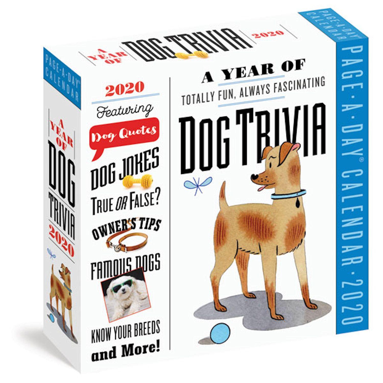 2020 Dog Trivia Page A Day Calendar Trivia Calendar Ebook Pdf