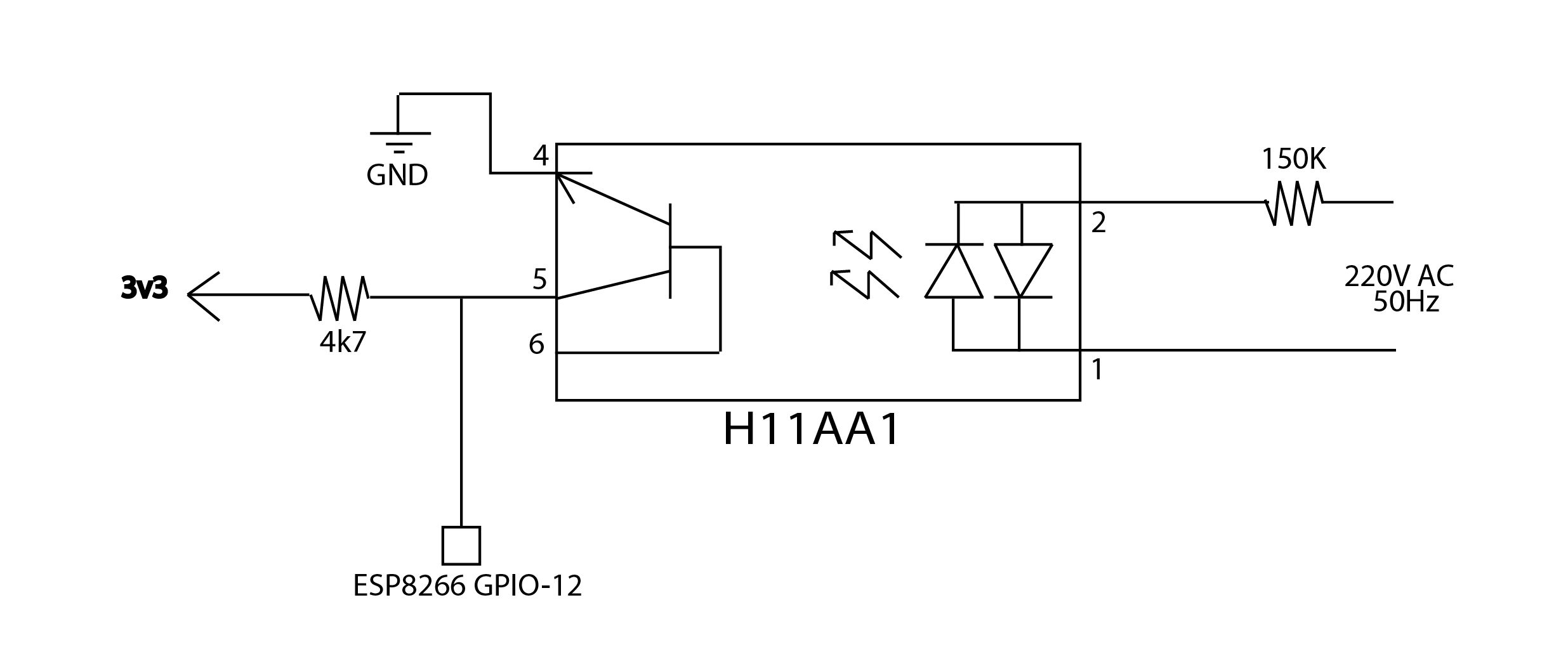 medium resolution of triac zero cross detector problem electrical engineering stack with regard to overflow detection circuit