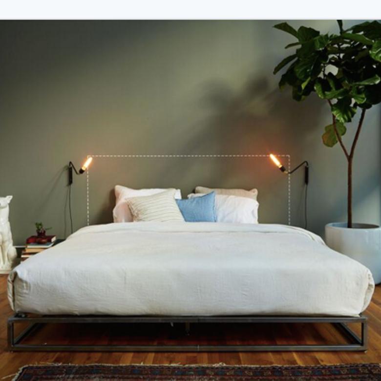 King Bed Frame By B Sherman Workshop Workof Bedframe