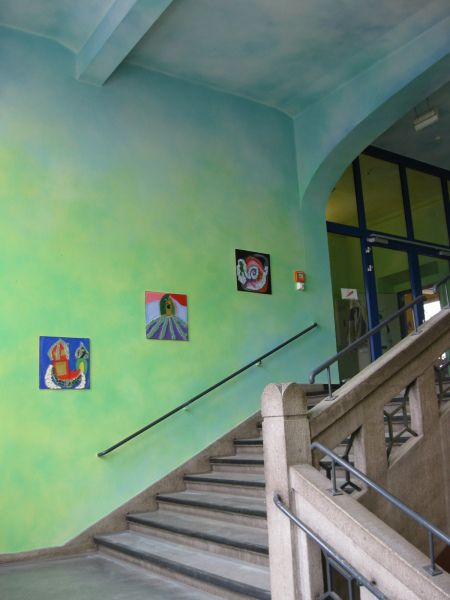 Bild Zu Flurgestaltung Gerhart Hauptmann Grundschule Dortmund
