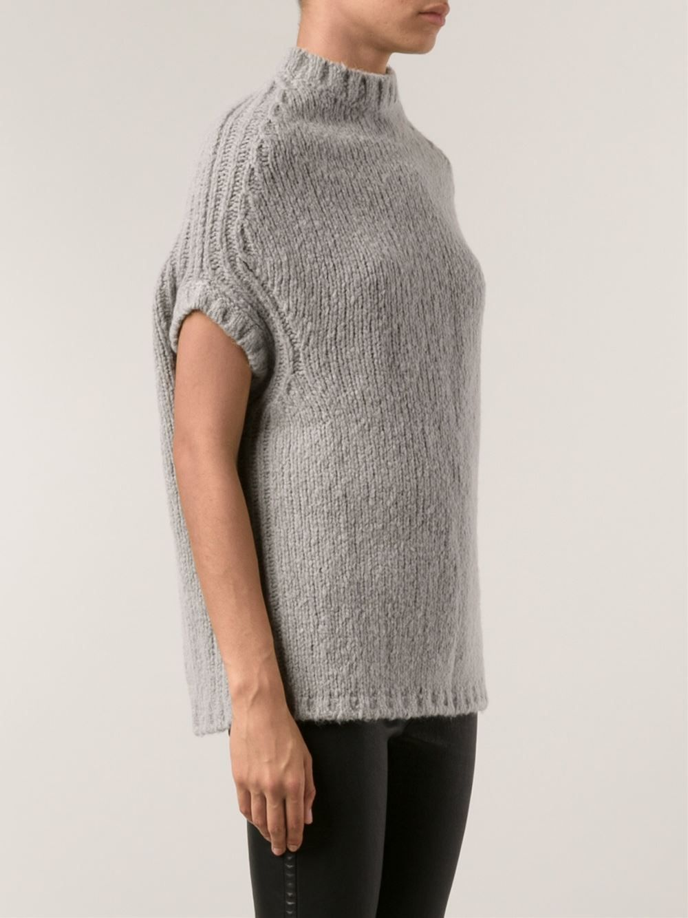 Rick Owens Knit Sweater - verrry interesting and easy to wear