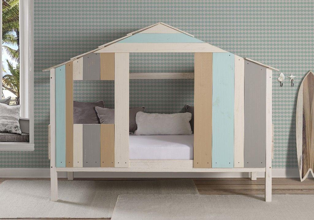 Caribbiean Bay Low Loft Donco 2077TRCC Twin loft bed