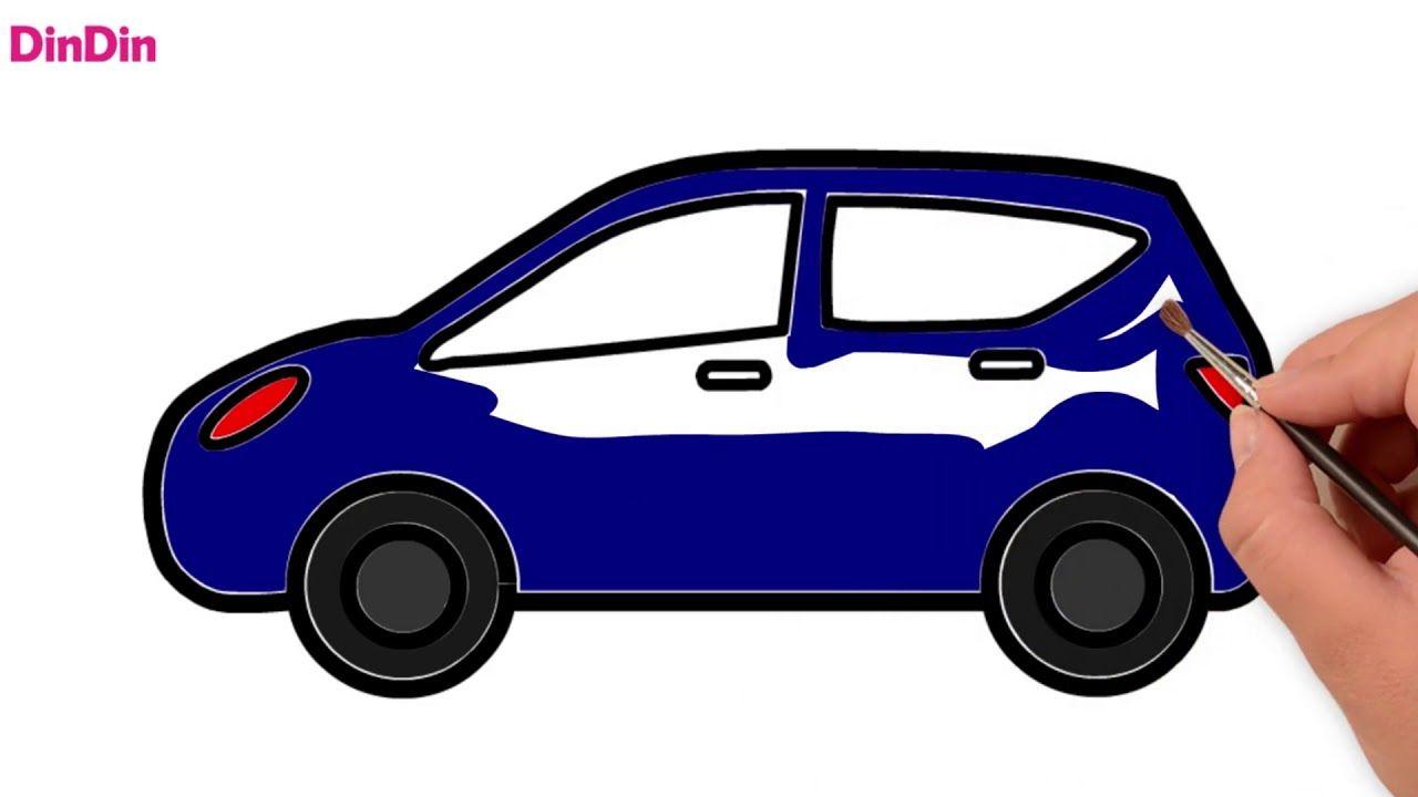 auto zeichnen und ausmalen malvorlagen für kinder
