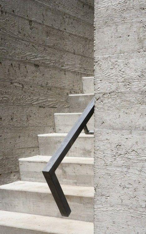 Pohledov 253 Beton Otisk Dřevěn 253 Ch Prken Concrete Stairs