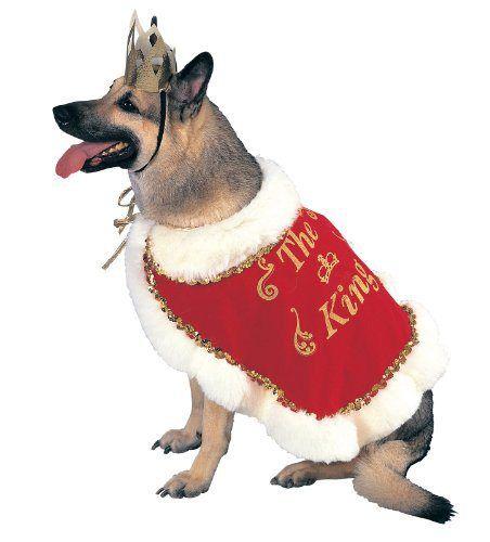 King Dog Pet Costume,Medium - http://www.thepuppy.org/king-dog-pet-costumemedium/
