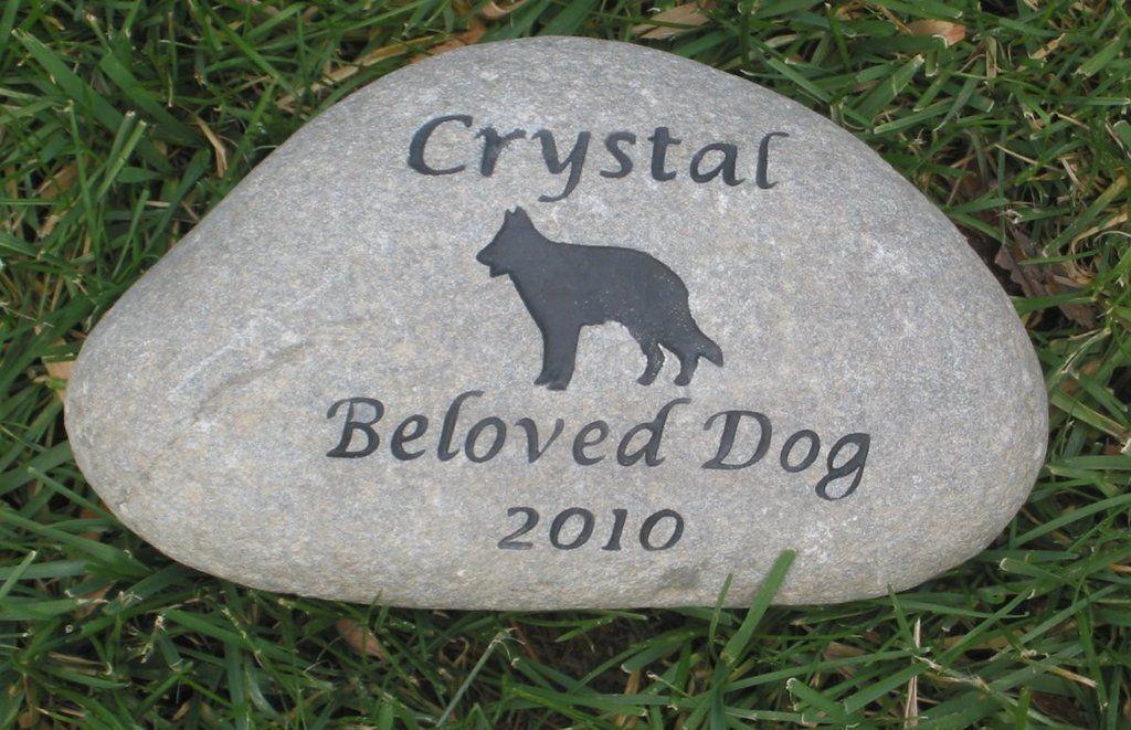German Shepherd Memorial Stone German Shepherd Memory