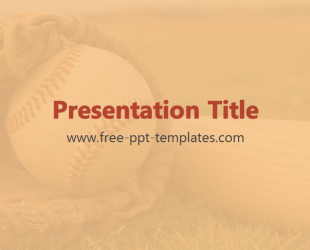 Baseball powerpoint template is a beige template with appropriate baseball powerpoint template is a beige template with appropriate background image which you can use to make an elegant and professional ppt presentation toneelgroepblik