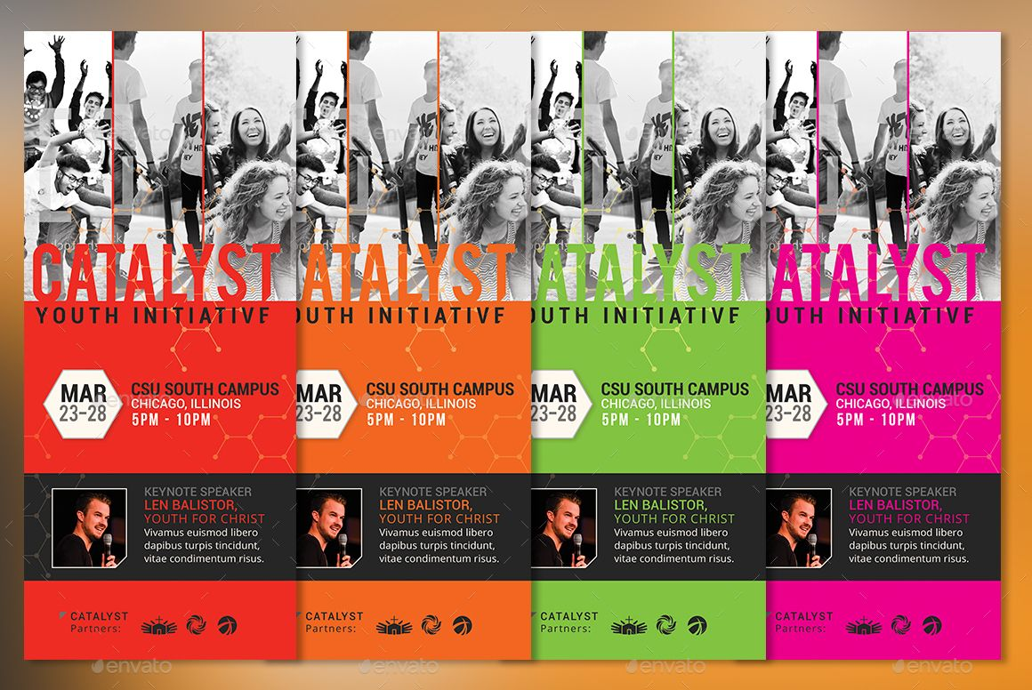 Catalyst Youth Summit Tri Fold Program Template Program Template