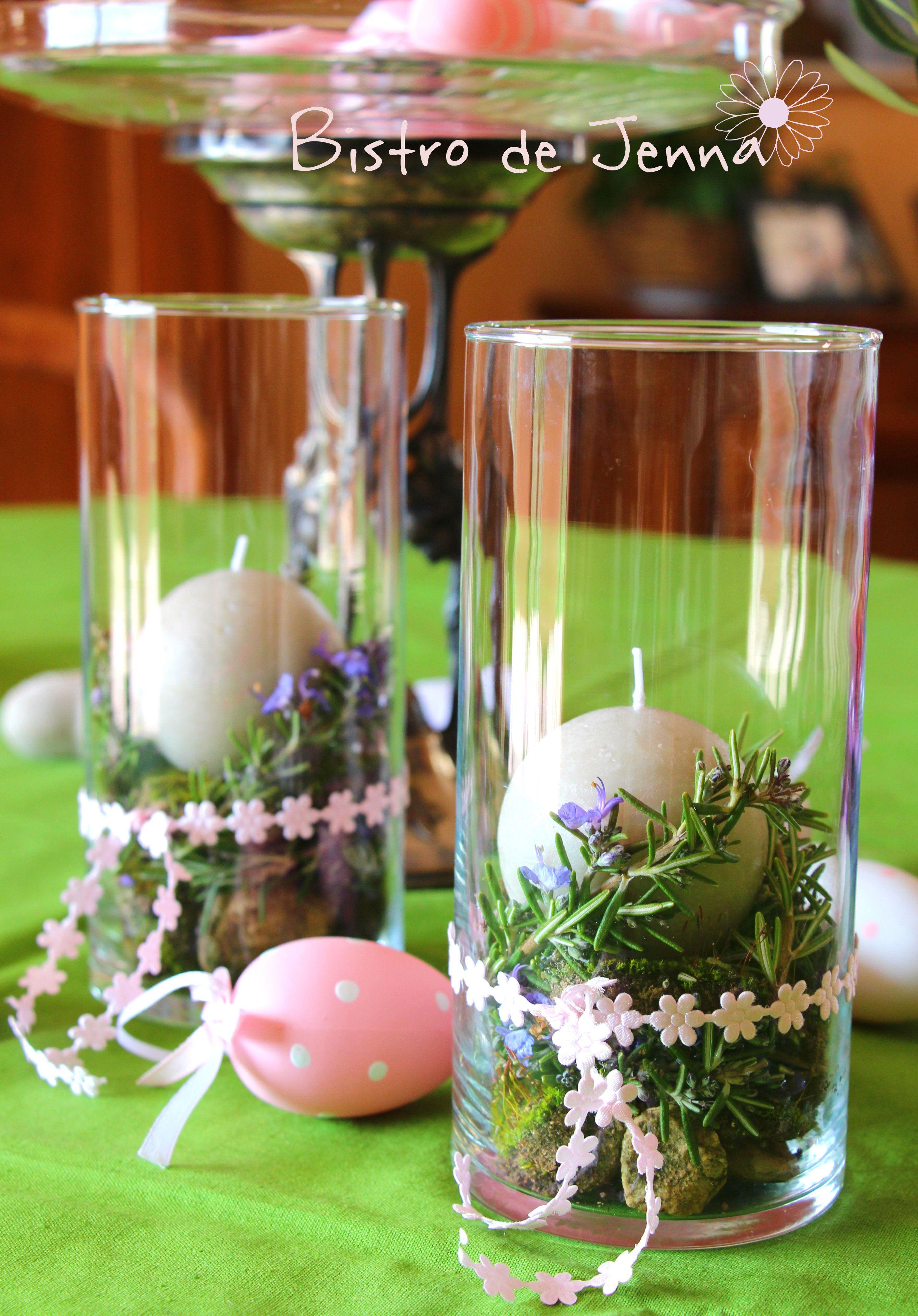 Romarin decoration bougies  By///Jenna Maksymiuk