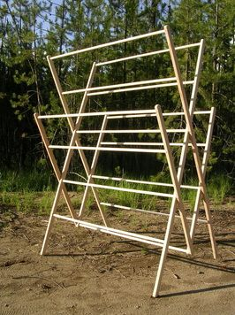 Wood drying rack can i find plans to build my own for Can i find blueprints of my house online