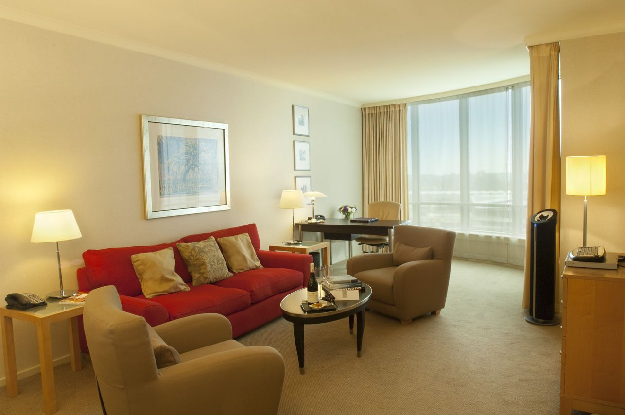 the executive suites have a seperate sleeping area and a comfortable