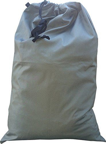 Fire Force GI Style Heavy Duty Military Barracks Laundry Bag Color Air Gray Made In