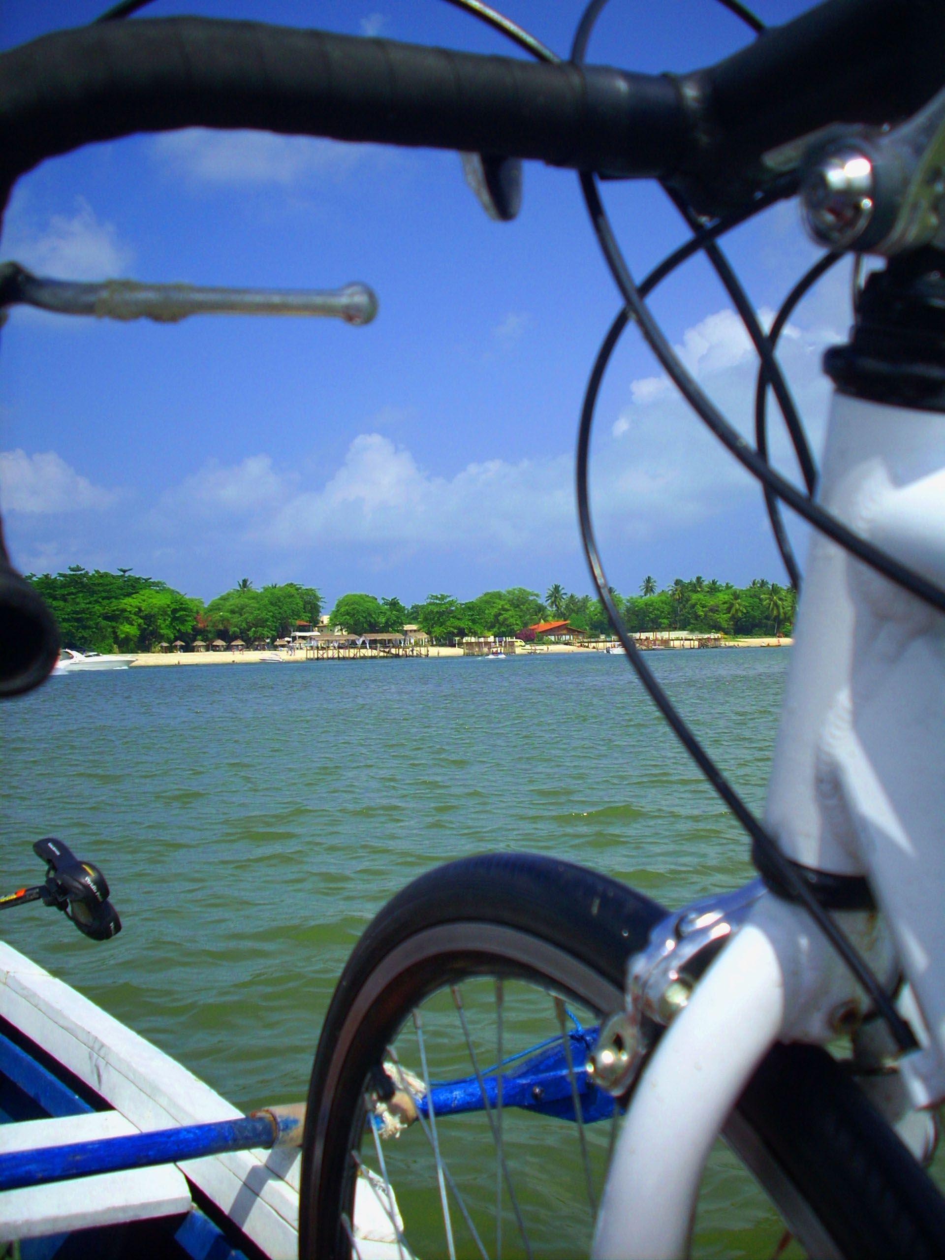 Pedal sobre as águas. Itamaracá-PE