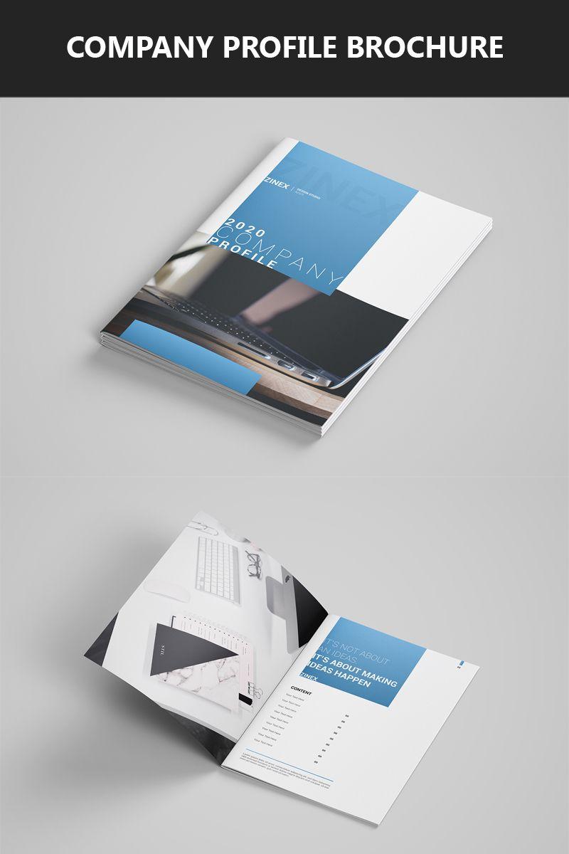 Company Profile Brochure Template Corporate Brochure Business