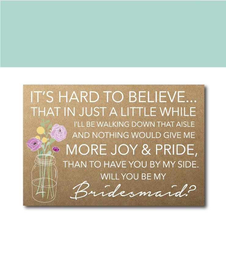 Bridesmaid ask ideas 50 phrases to ask your girls to be