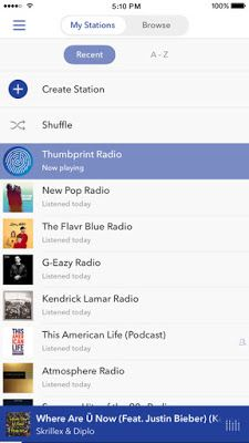 Download Pandora IPA For iOS Pandora stations, Best
