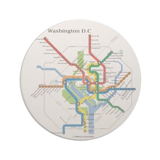 Hotel Subway Map Washington Dc.Washington Transit Dc Subway Map Underground Coaster Zazzle Com