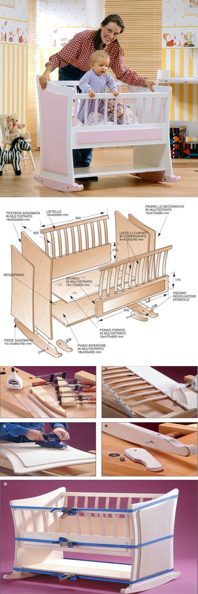 Costruire Una Culla A Dondolo.Tutorial Diy Faidate Per Costruire Una Culla Per I Nostri
