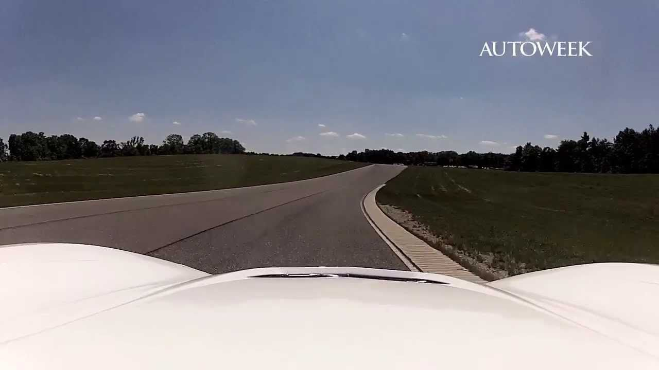 2014 Chevrolet Corvette Stingray first drive at Milford Proving Grounds - happy sigh...