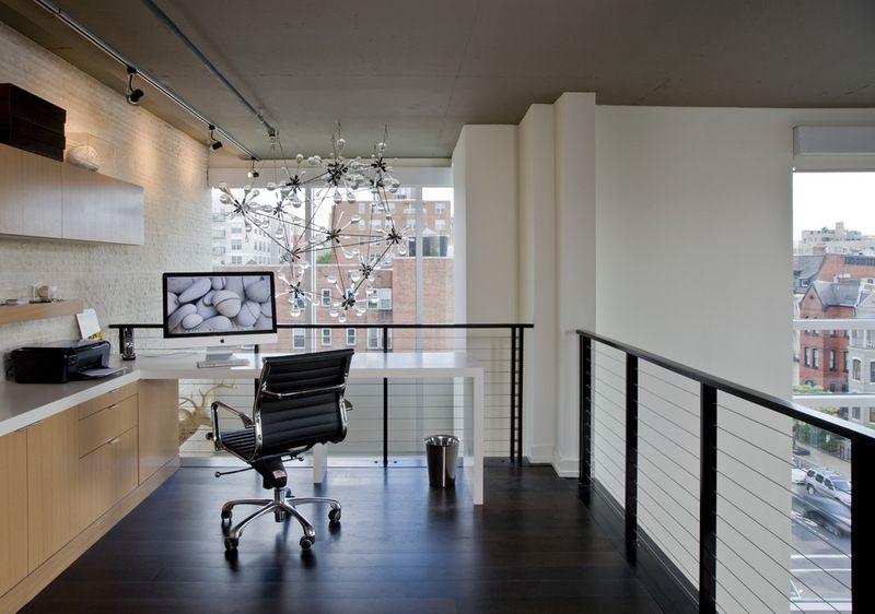 Industrial Home Office Design Idea Contemporary Home Offices Industrial Home Offices Home Office Design