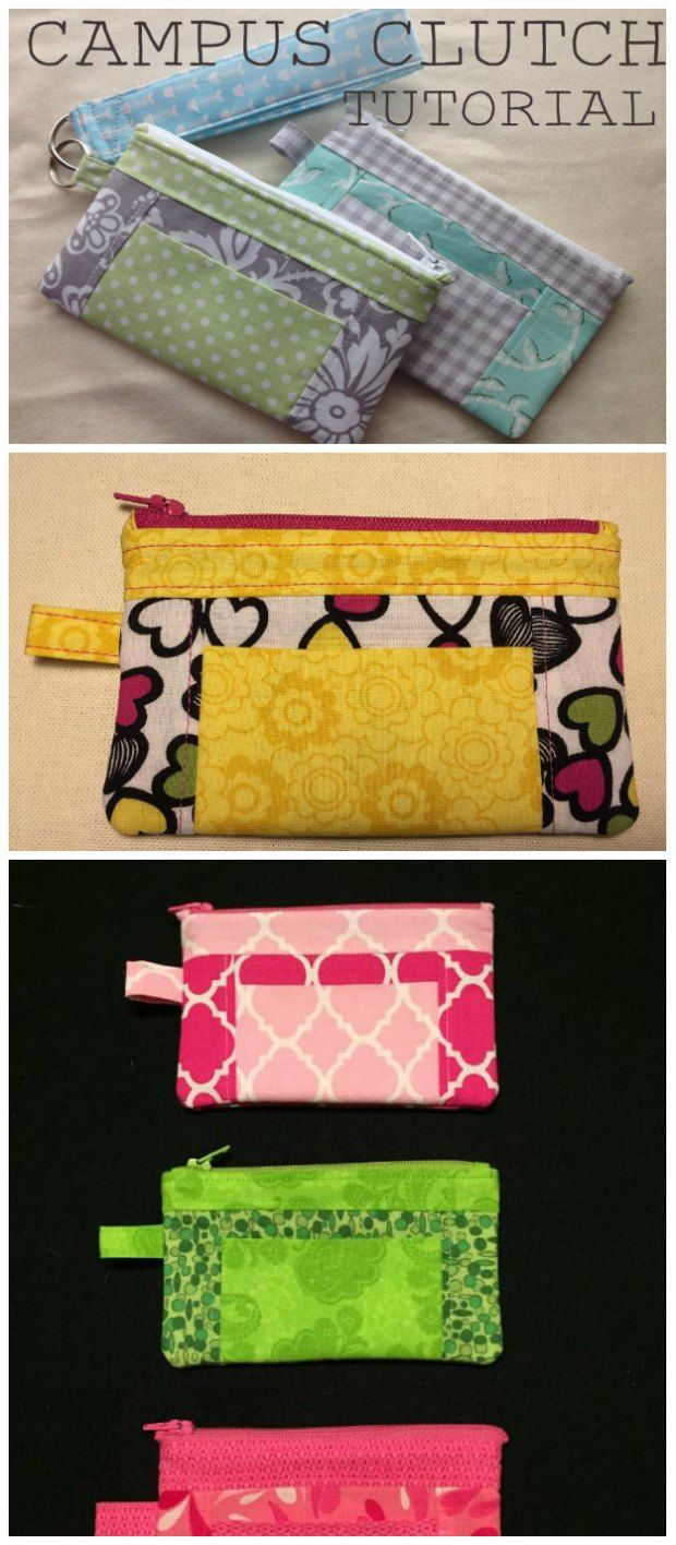 The campus clutch free bag pattern clutch bags wristlets and the campus clutch free bag pattern jeuxipadfo Gallery
