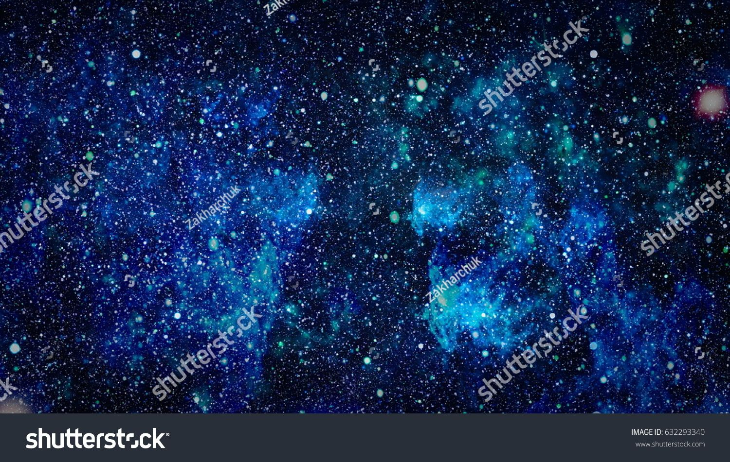 High Definition Star Field Background Starry Outer Space
