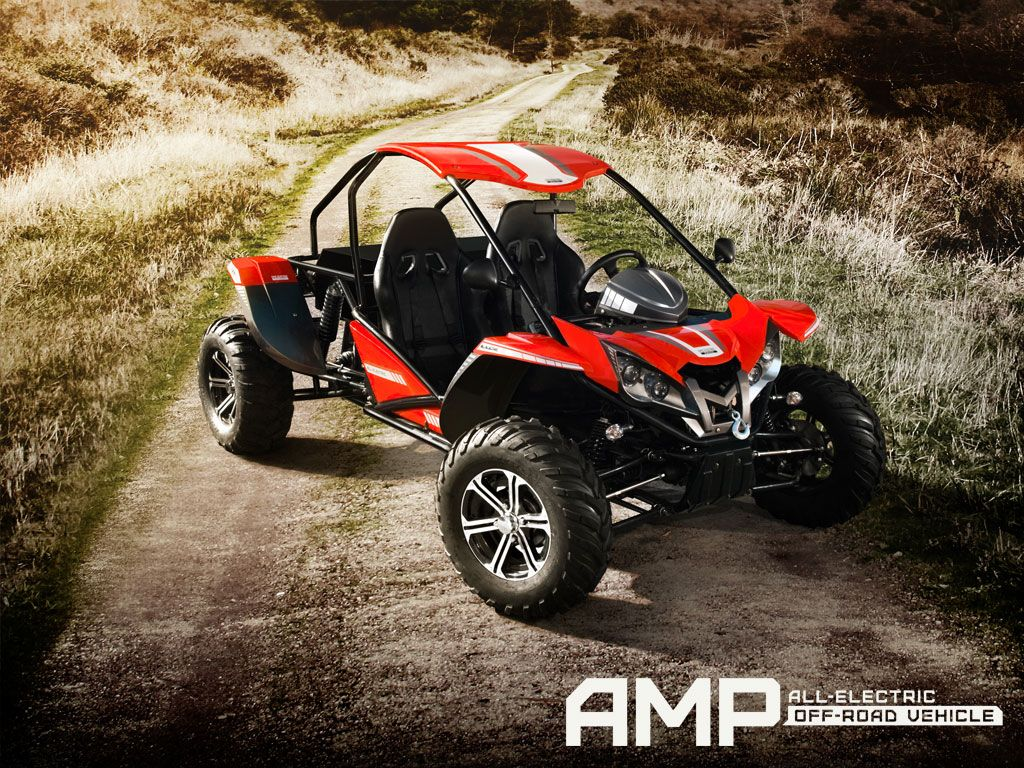 Amp All Electric Off Road Vehicle Side By Side All