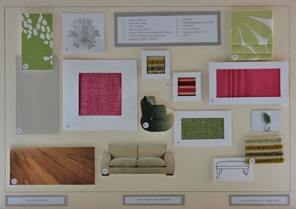 Final Sample Boards Interior Design Google Search