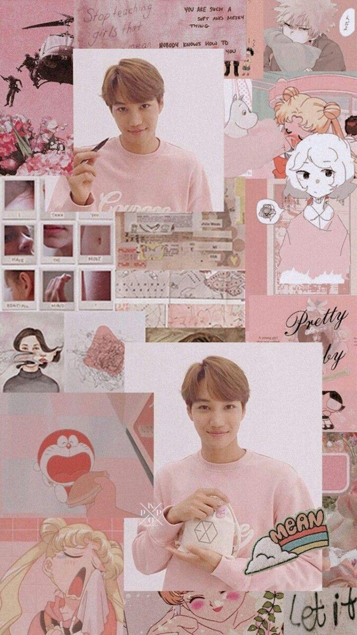 Exo Wallpaper My King Kai Weareone Exo Kai Pinterest Exo