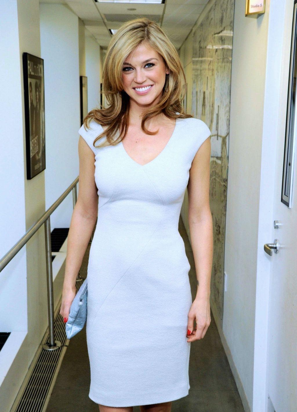 Adrianne Palicki lovely in a white mini dress | Celebrities in a ...