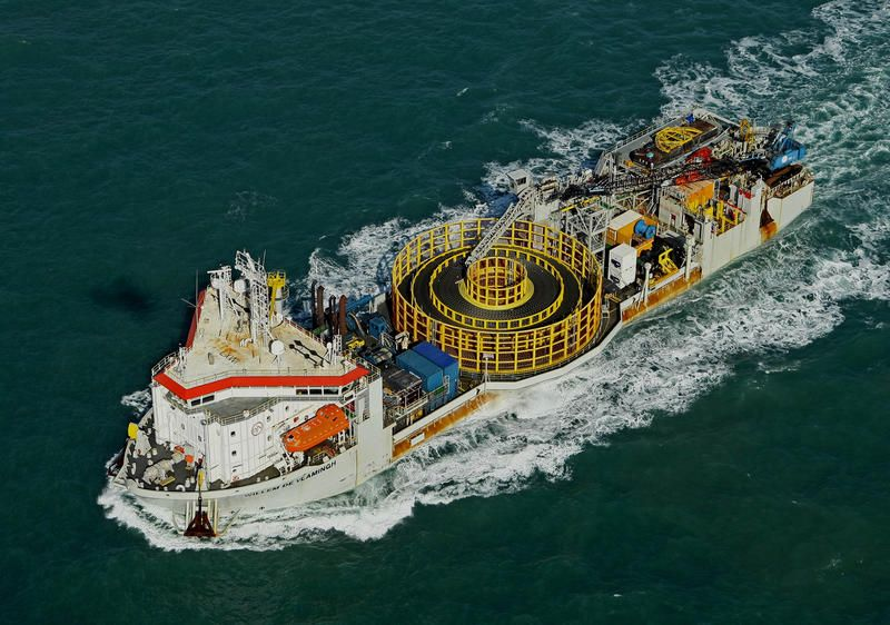 Cable Laying Vessel Willem De Vlamingh Cable Ships