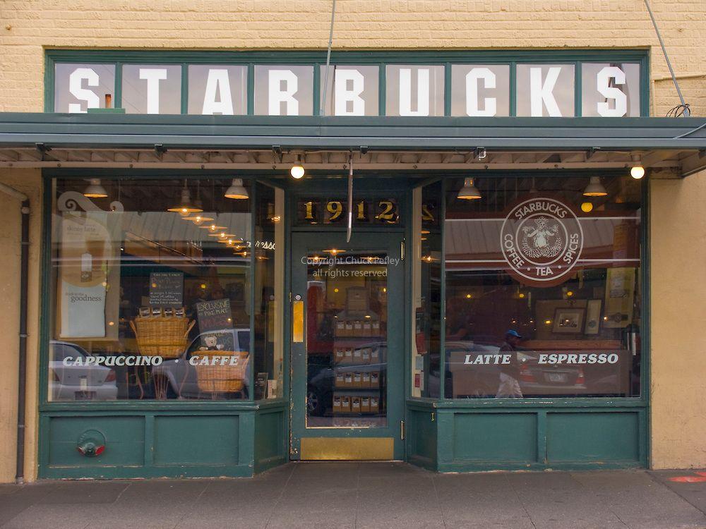 Starbucks Coffe original store location, Pike Place Market