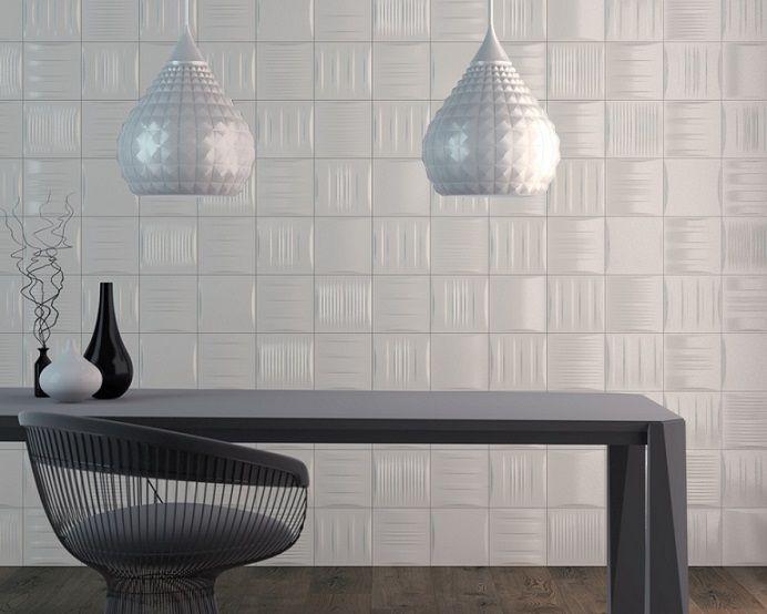 Feature Tiles Wall Tiles Splashback Tiles Stripe White Spark Simple Mosaic Feature Tiles Bathroom Decorating Inspiration