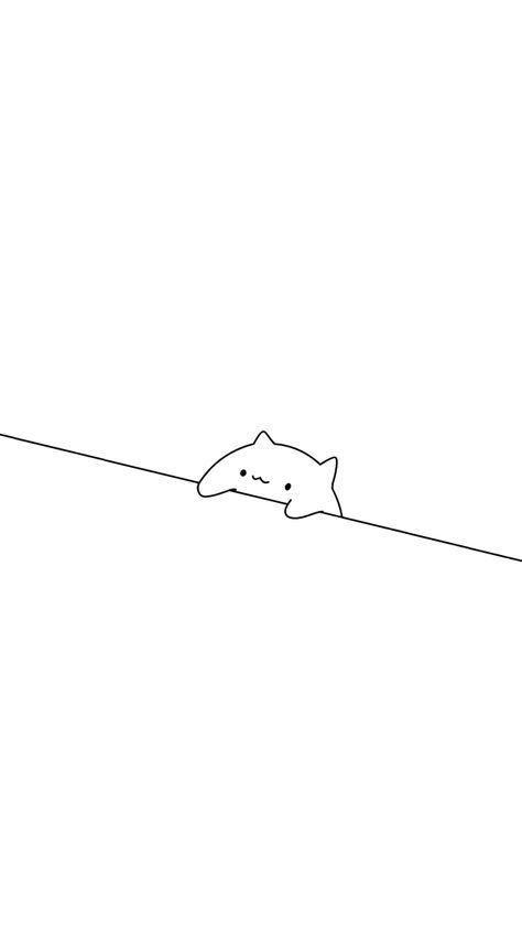 minimalistic bongo cat