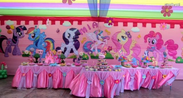 Mlp Centerpiece Ideas Decoracion De Eventos Infantiles My Little