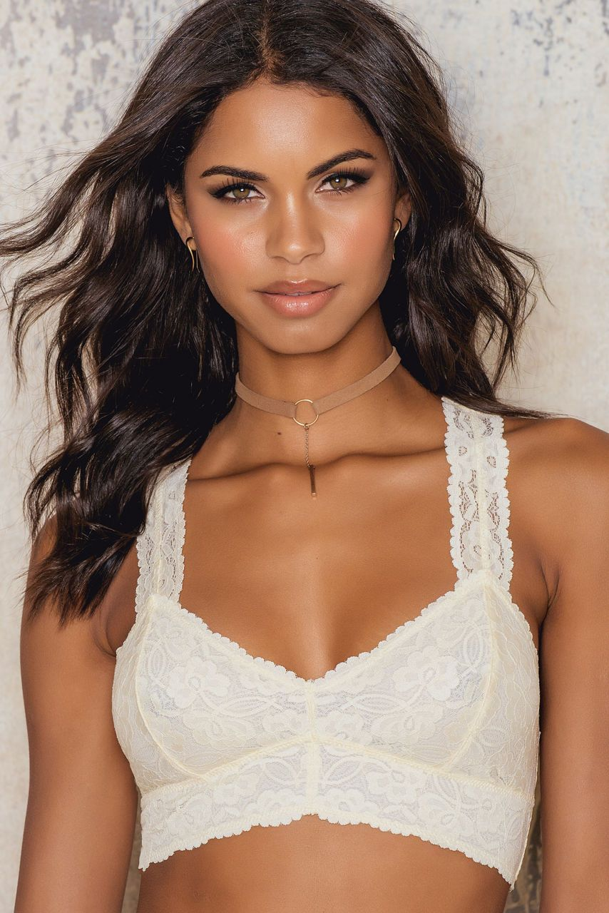 94e846ac46a FREE PEOPLE GALLOON LACE RACERBACK BRA.  freepeople  cloth