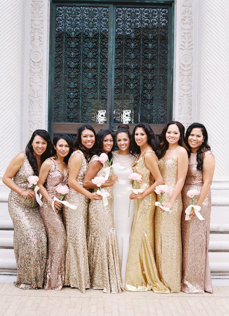31 real life bridal parties who nailed the mix n match look 31 real life bridal parties who nailed the mix n match look ombrellifo Choice Image