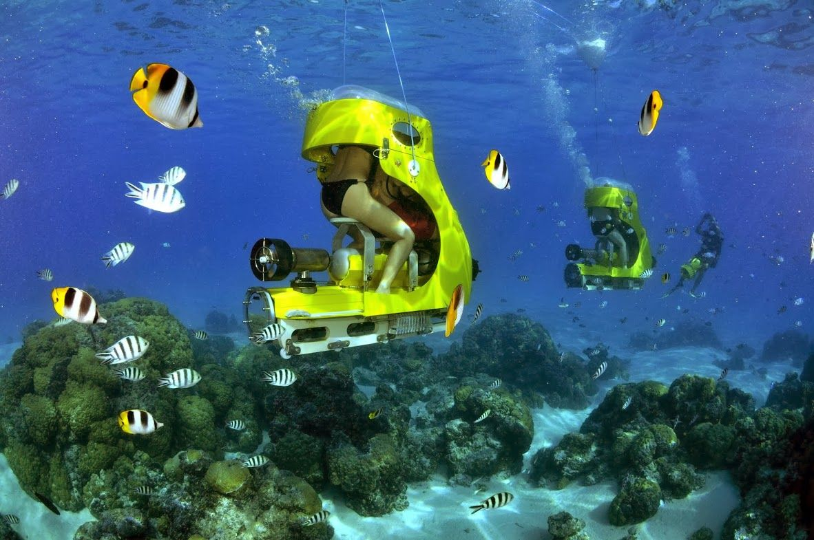 Aquabike in Bora Bora vacation travel Repinned by wwwavacationrental4mecom  Beautiful