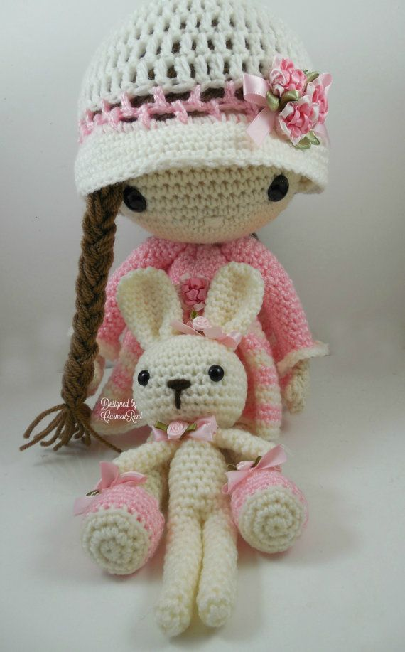 April Amigurumi Doll Crochet Pattern PDF by CarmenRent on Etsy