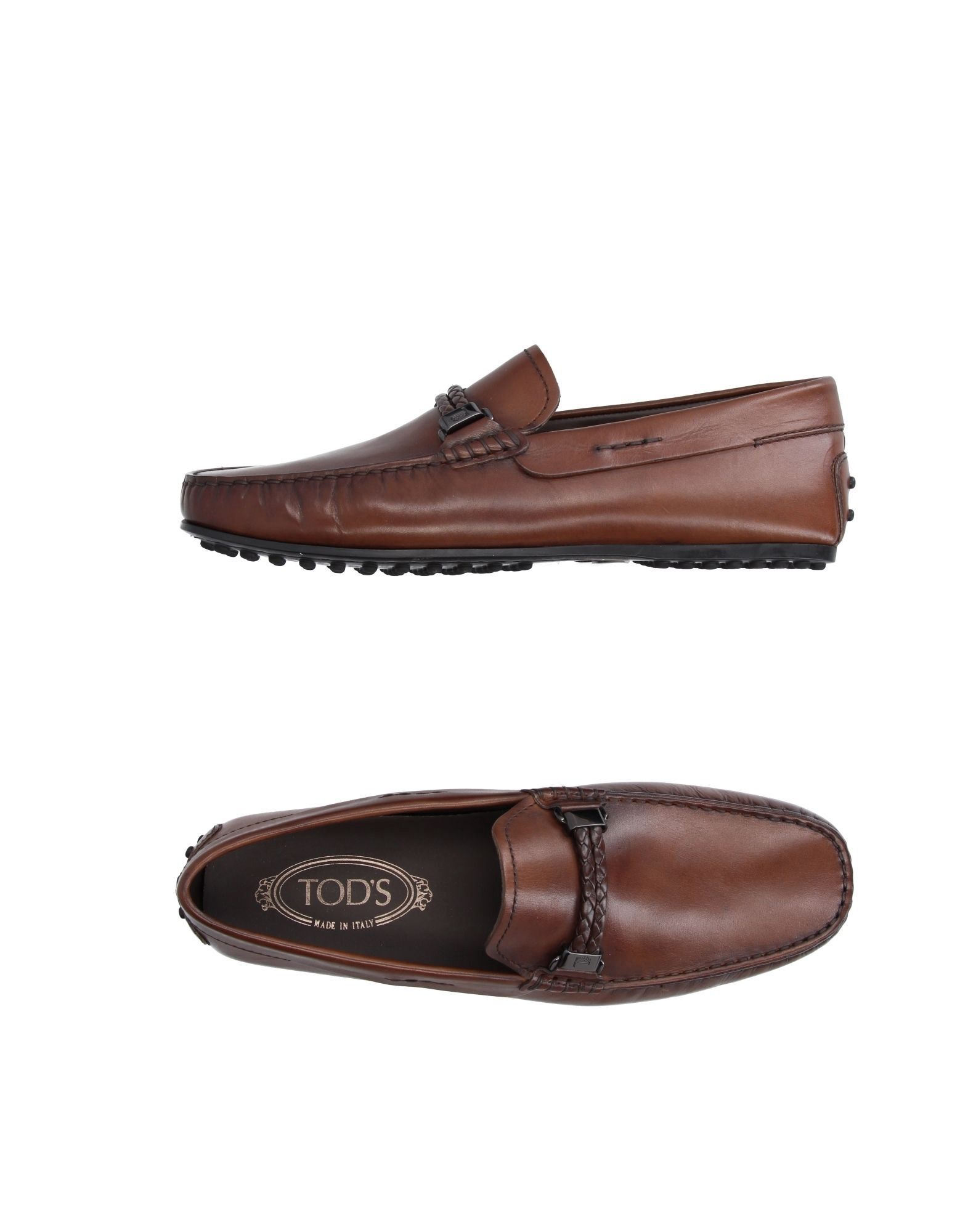 TOD'S Loafers Cocoa Men