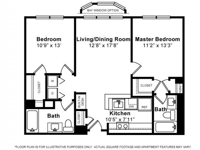 2 Bed 2 Bath Apartment In White Plains Ny Floor Plans Apartment Floor Plans 2 Bedroom Apartment Floor Plan