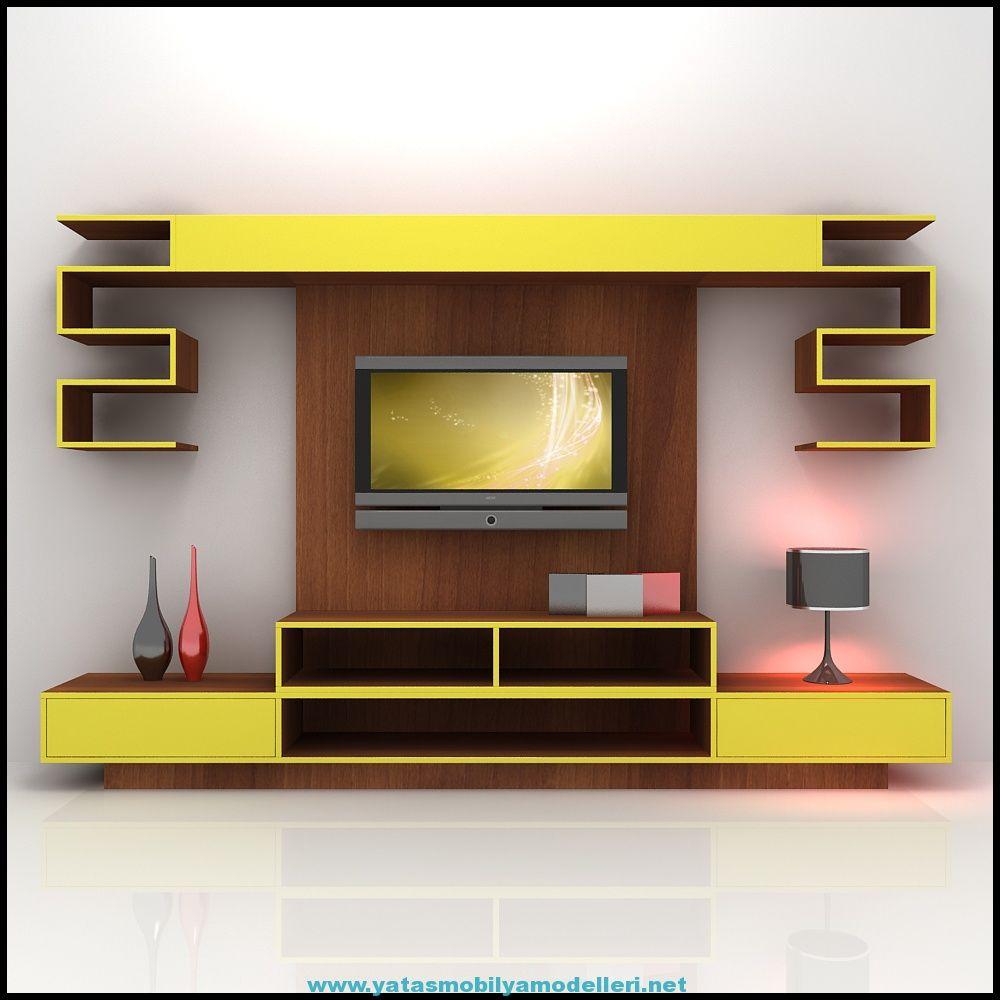 2017 Enza Mobilya Tv Nitesi Modelleri Enza Enza Mobilya Yata  -> Muebles Para Tv Modernos 2017